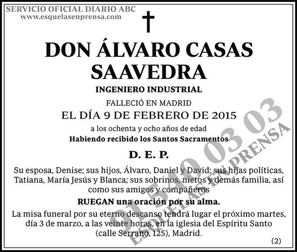 Álvaro Casas Saavedra